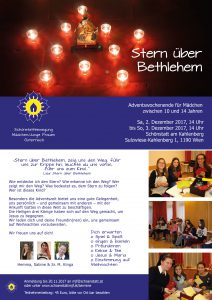 Adventswochenende für Mädchen von 10-14 Jahren - Schönstatt MJF Österreich