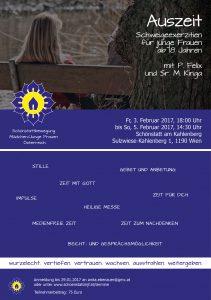 Schweigeexerzitien für junge Frauen 2017 - Schönstatt MJF Österreich