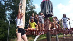 Mädchenlager für junge Mädchen im Sommer 2020 am Kahlenberg