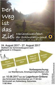 Mariazellwallfahrt der Schönstattjugend - Schönstattbewegung Mädchen/Junge Frauen Österreich