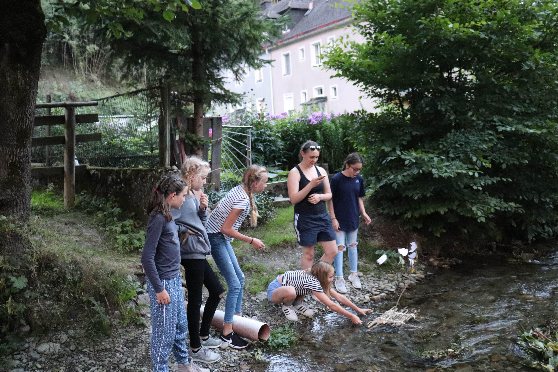 kleines Mädchenlager 2019 am Kahlenberg