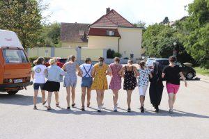 Mädchenlager für 13-15 Jährige gemeinsam mit Sr. M. Kinga in Eggenburg