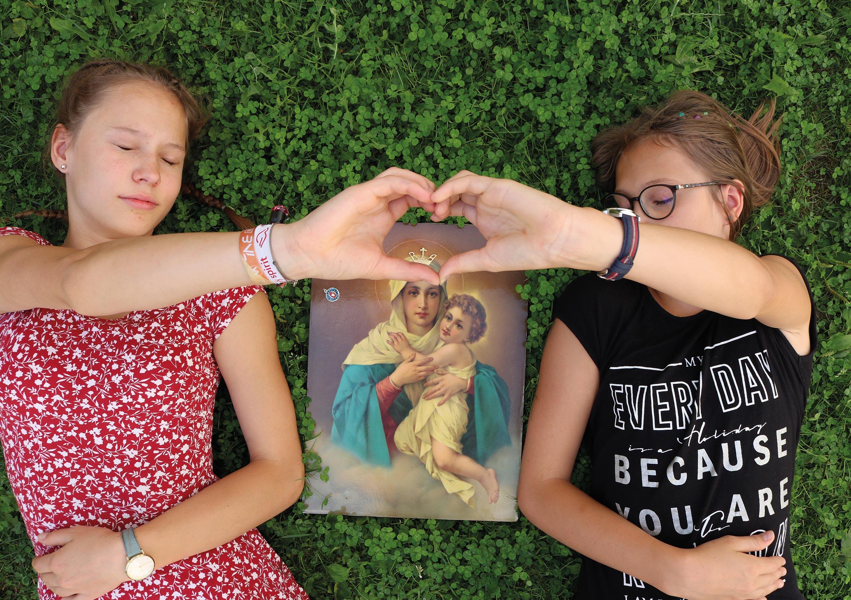 Lager für Mädchen von 9-14 Jahren mit Maria im Sommer