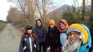 Wanderexerziten der jungen Frauen