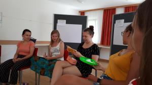 Tabuspiel beim Trägerinnentreffen