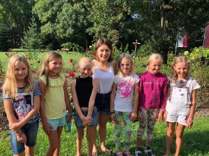 Kleines Mädchenlager am Kahlenberg in Wien 2019