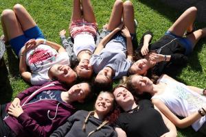 großes Mädchenlager 2018 im Juli