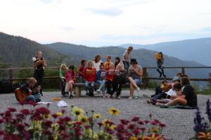 2018 kleines Mädchenlager in der Veitsch